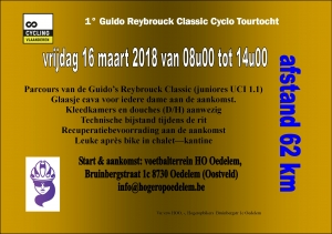 1ste Guido Reybrouck Classic Cyclo Tourtocht