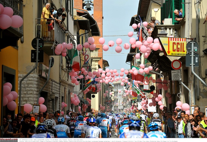 Cycling: 100th Giro d'Italia 2009 / Stage 13