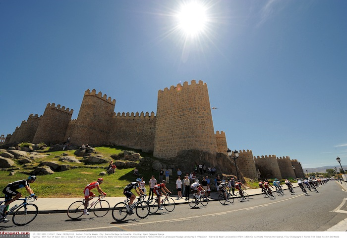 Cycling : 66th Tour of Spain 2011 / Stage 9