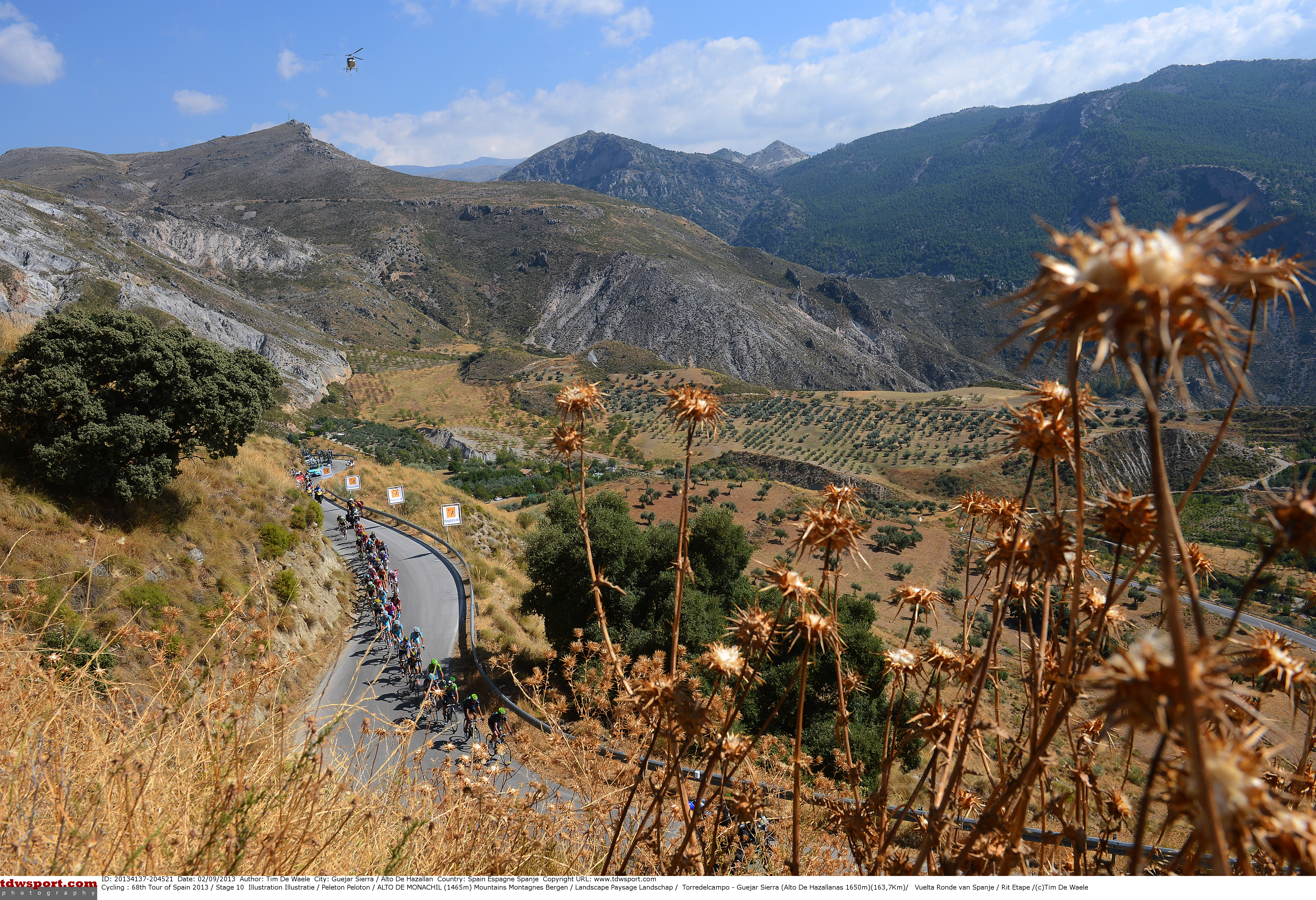 Cycling : 68th Tour of Spain 2013 / Stage 10