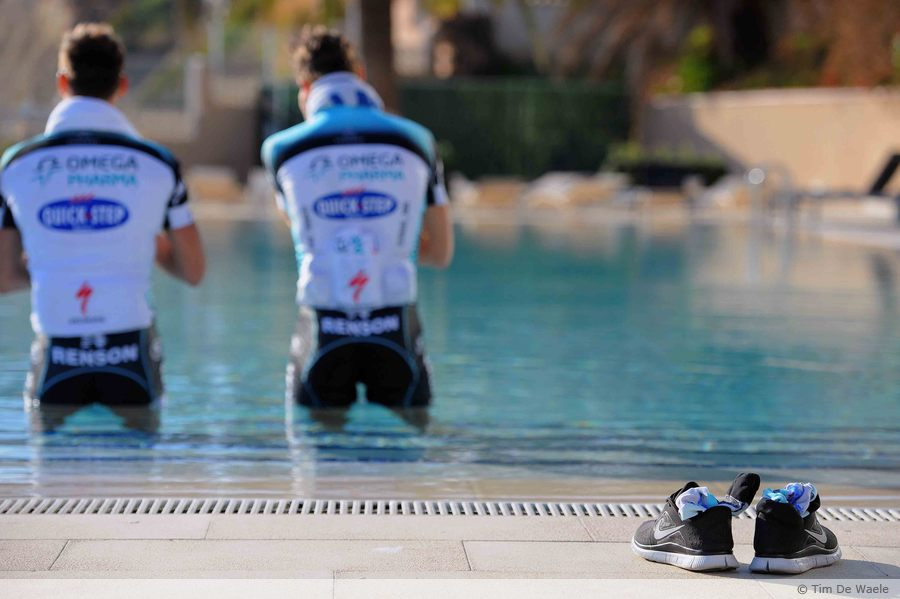 Stybar-Maes cooldown
