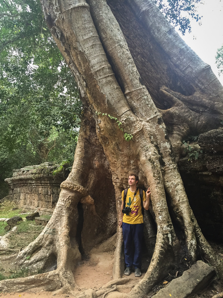 Jan in Ta Prohm