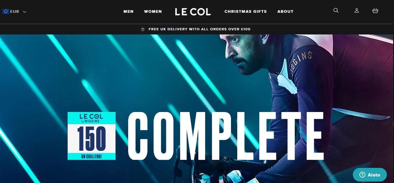 LE COL BY WIGGINS 150 KM CHALLENGE COMPLETE