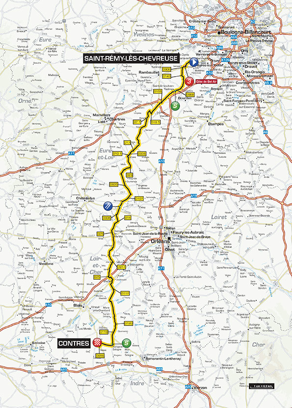 Discover The Route Of ParisNice Catena Cycling - Paris to nice