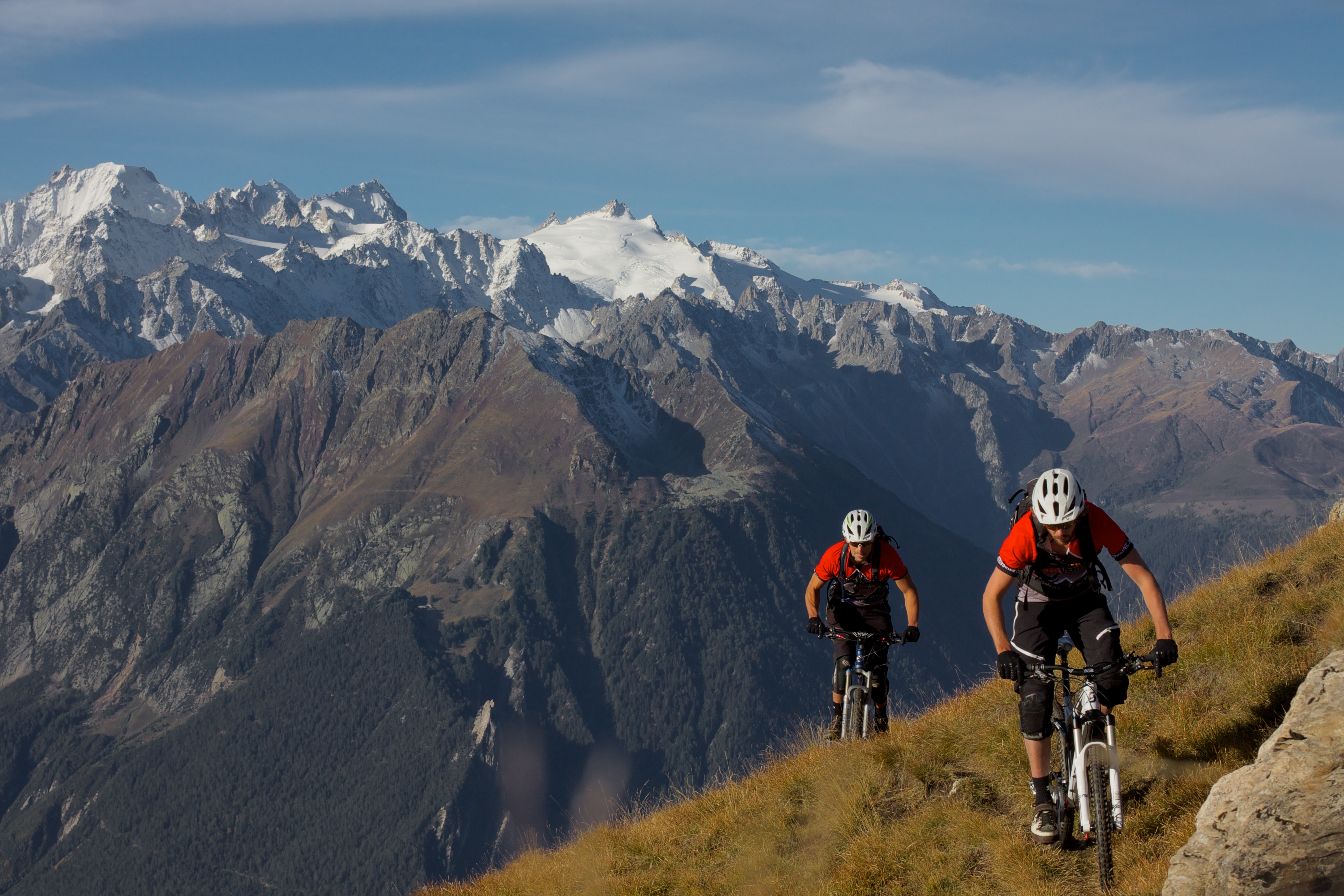 Mountain biking holidays in Verbier Switzerland Complete packages